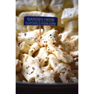 Garden Herb Cheese Curd
